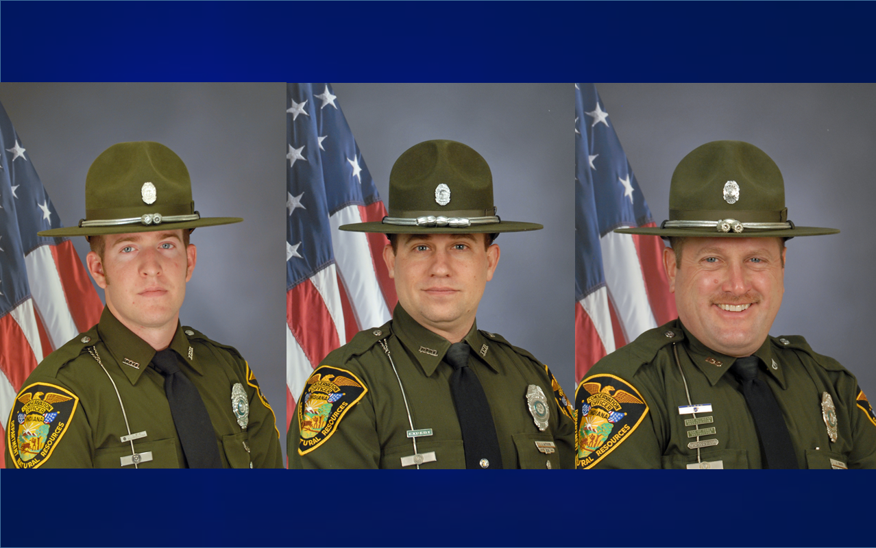 Trio of DNR District 7 Conservation Officers Win Awards Recently