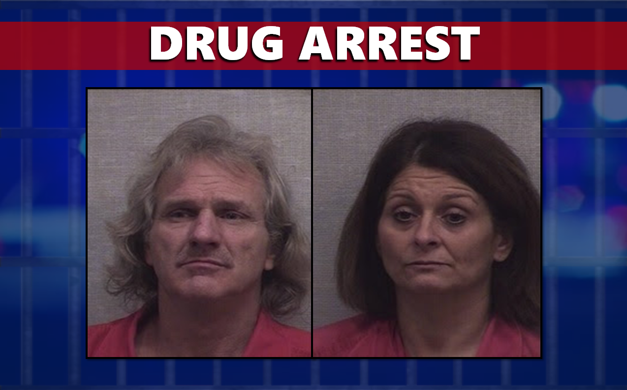 Pair Arrested on Drug Charges Following Traffic Stop on 1-65