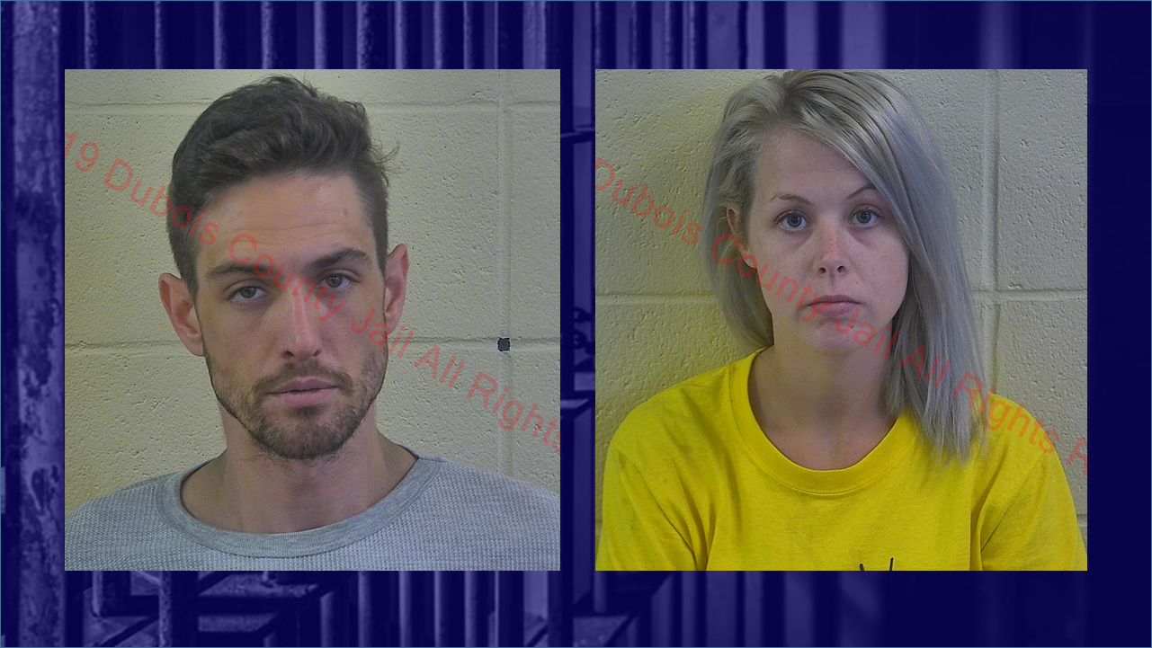 Pair Jailed on Felony Theft and Drug Charges Following Thursday Incident at Walmart