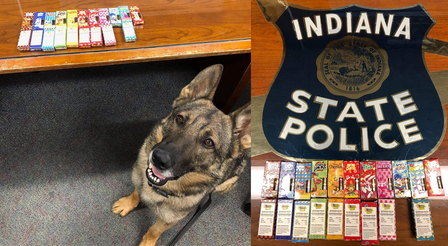 ISP Warns Parents to Be Vigilant After THC Candy is Found During Traffic Stop