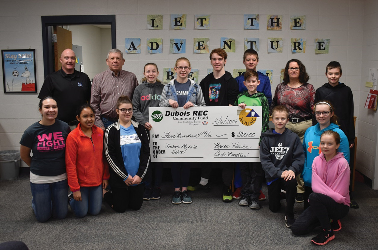 School and Community Groups Receive $10,000 Through Operation Round Up Grants
