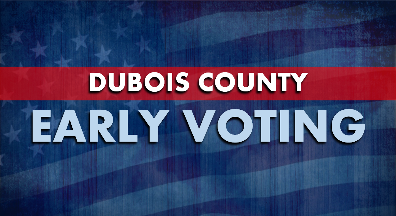 UPDATE: Short Wait Times Reported This Morning as Early Voting Begins in Dubois County