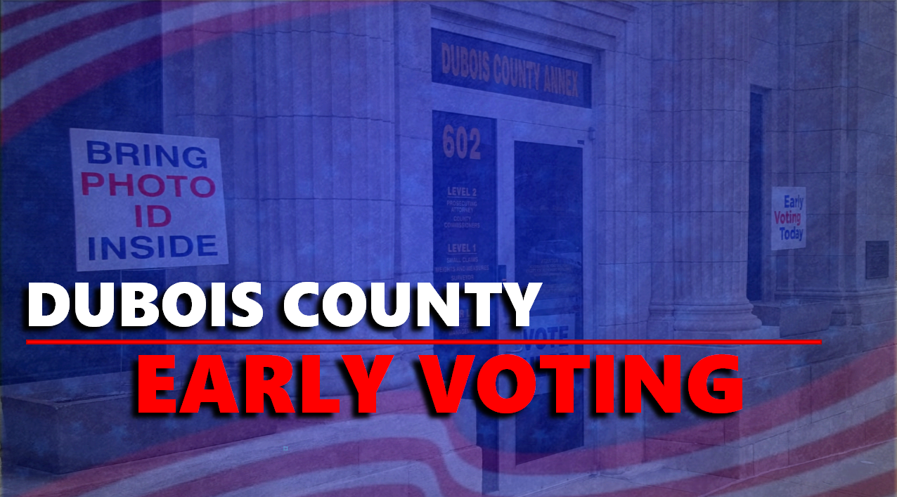 Early Voting Underway Thursday and Friday from 8 a.m. - 4 p.m.