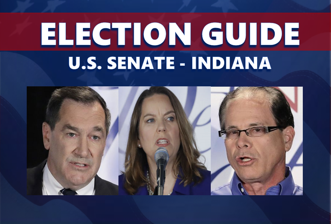 ELECTION GUIDE 2018:  Indiana's U.S. Senate Race