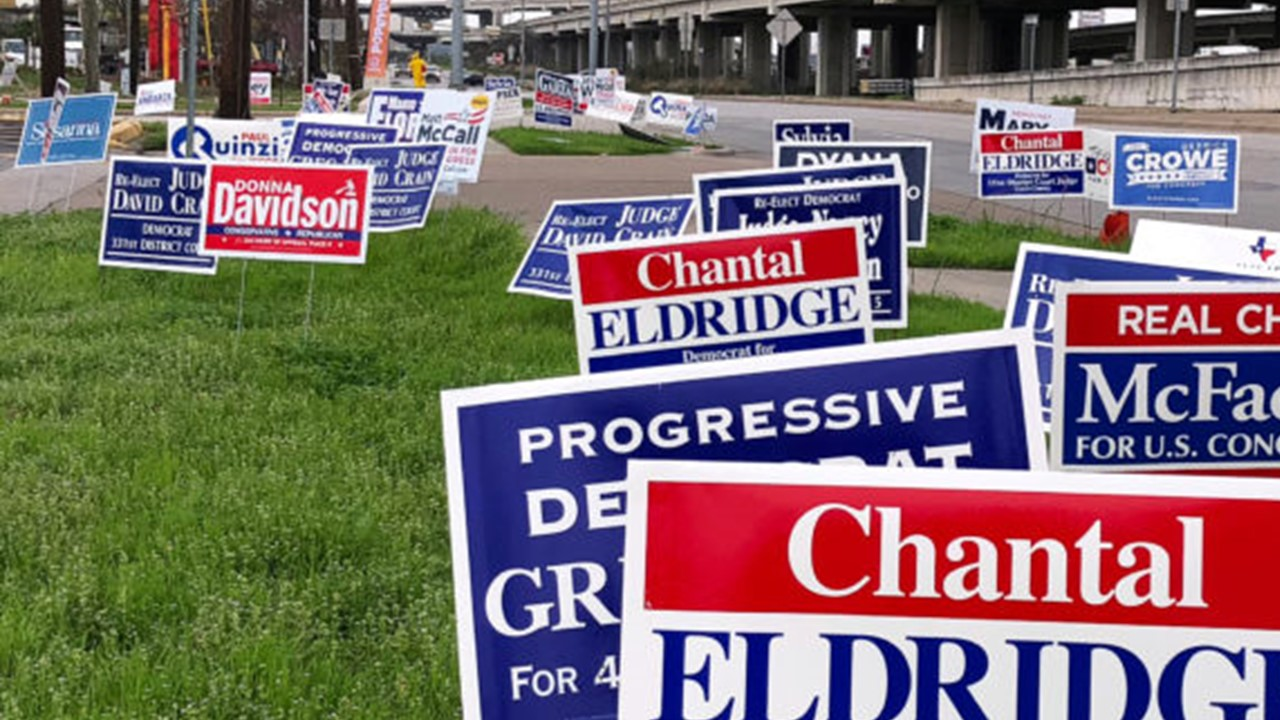 Area Law Enforcement Warning Residents That Stealing Campaign Signs is Illegal