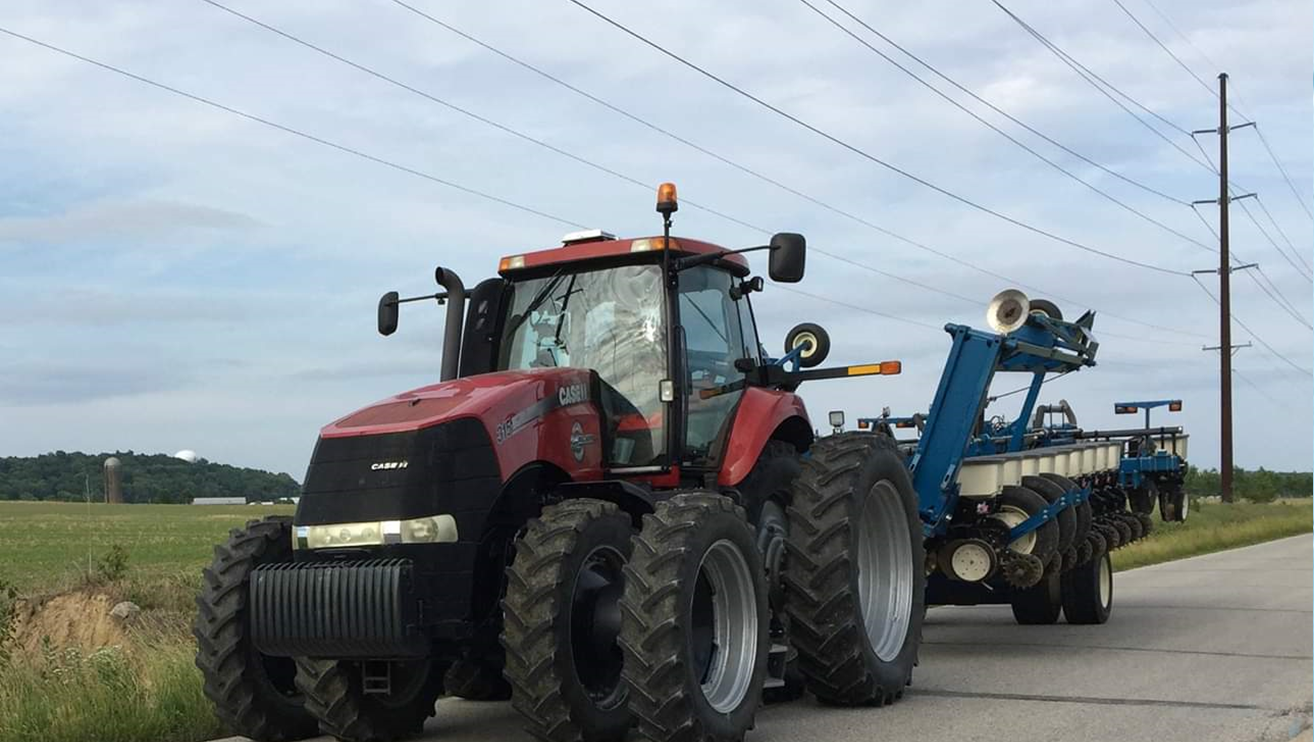 Sheriff's Office Warns Drivers to Be Cautious Around Farm Equipment This Planting Season