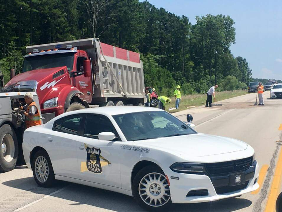 One Killed, Another Hurt in Crash