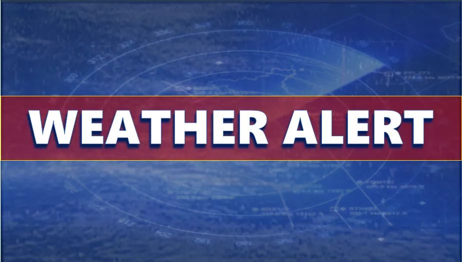 nws issues a wind advisory for the entire area through 10 p m