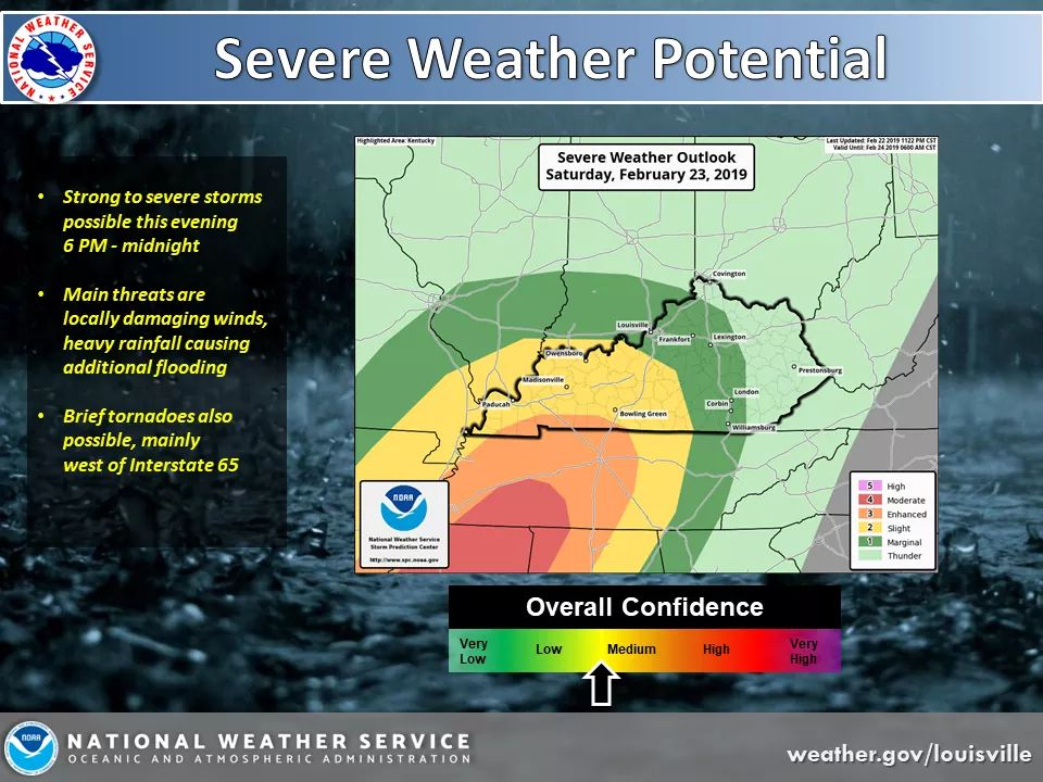 Severe Weather Possible Saturday Afternoon, Evening