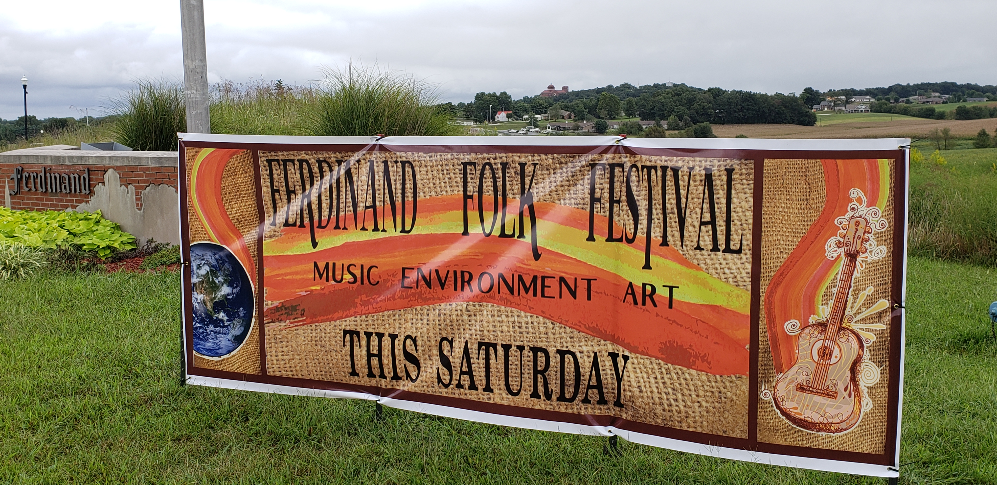 EVENT DETAILS:  9th Annual Ferdinand Folk Festival Saturday at 18th Street Park