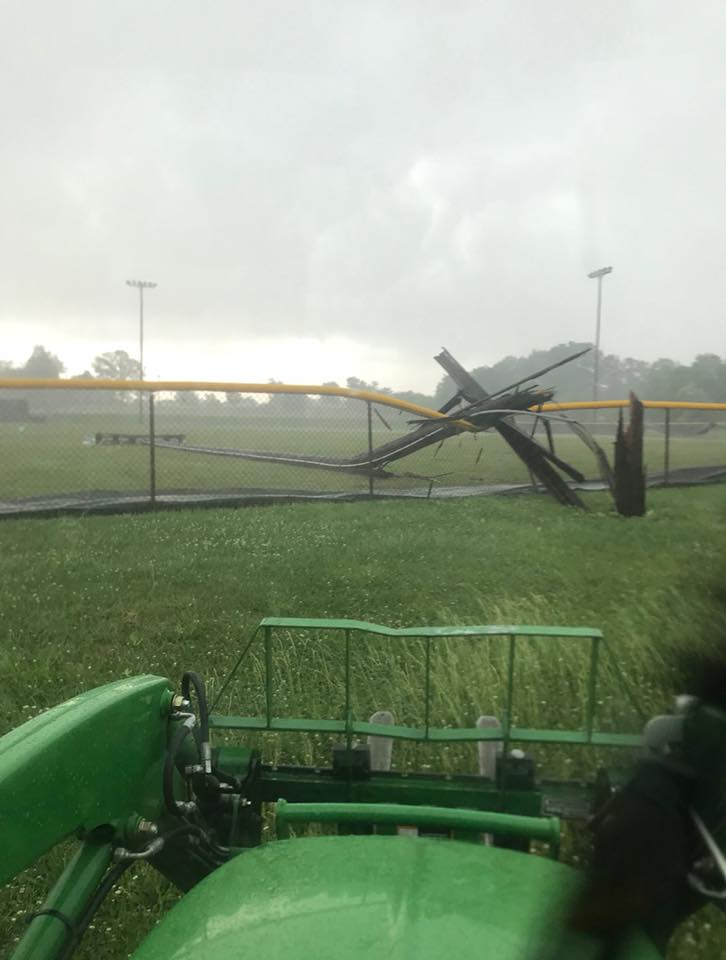 Damage at Paige Field Forcing 1 A Regional to Jasper