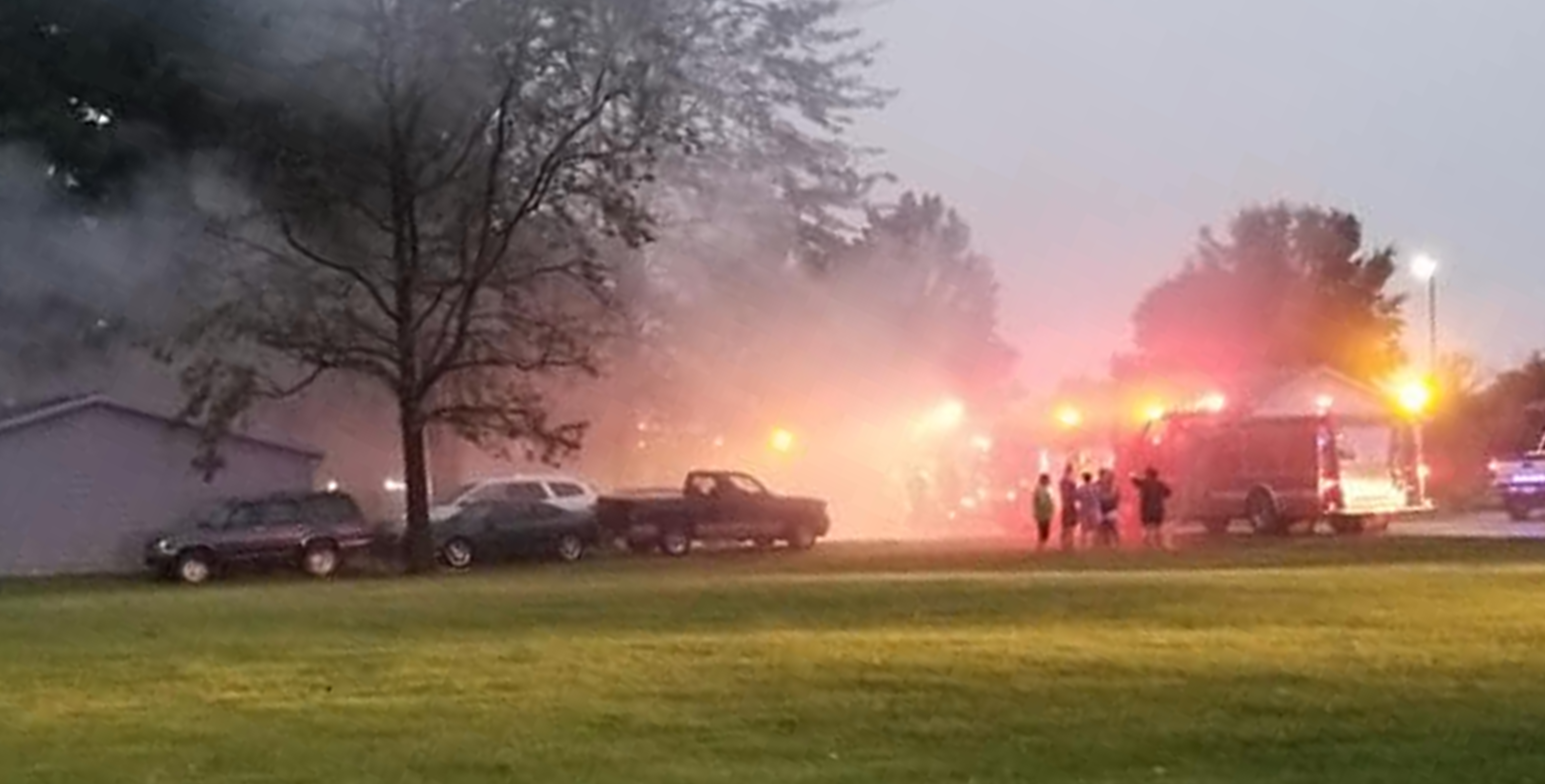 Falling Tree Pulls Down Power Lines on Jasper Home, Occupants Displaced Due to Resulting Fire