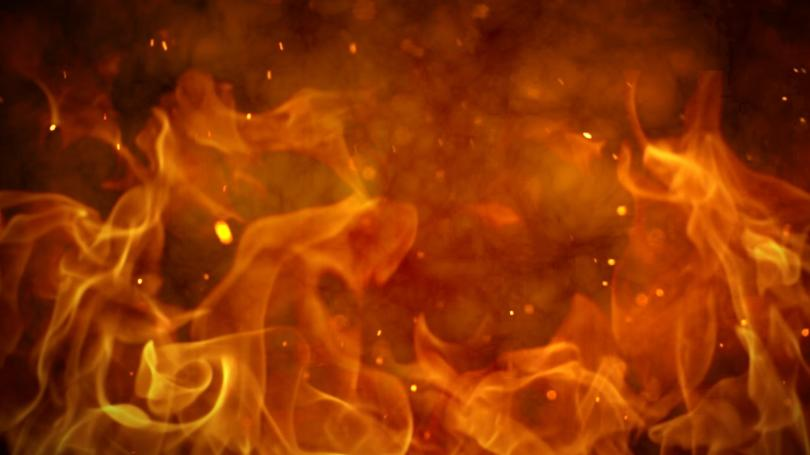 Warrick Co. Man Airlifted After House Fire