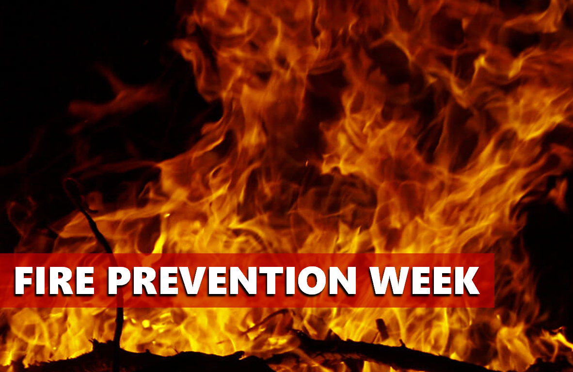 Household Preparation Encouraged During Fire Prevention Week, Oct. 7-13