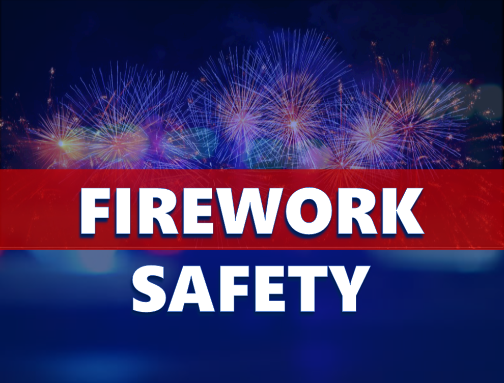 Indiana DHS Releases Information on Firework Safety