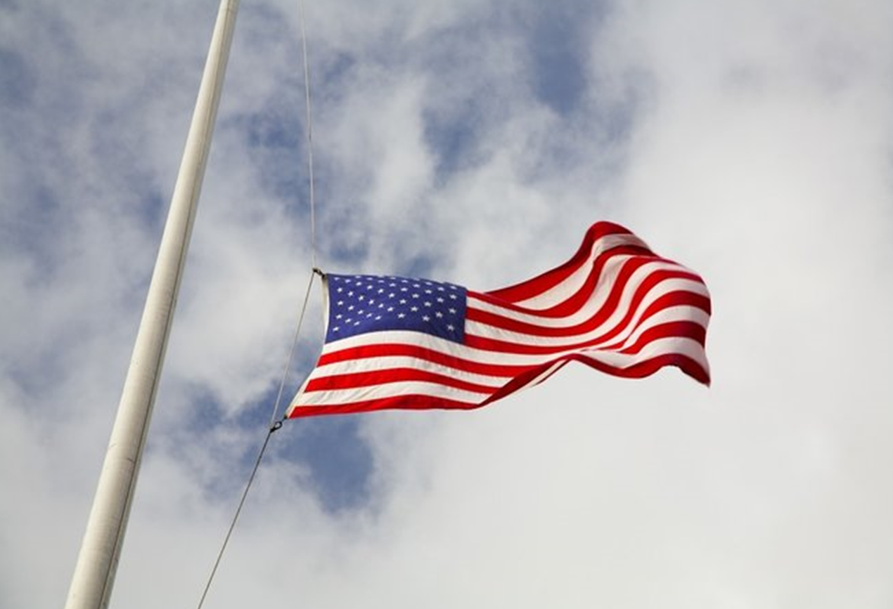 Gov. Holcomb Orders Flags in Indiana to Half-Staff to Honor Mass Shooting Victims
