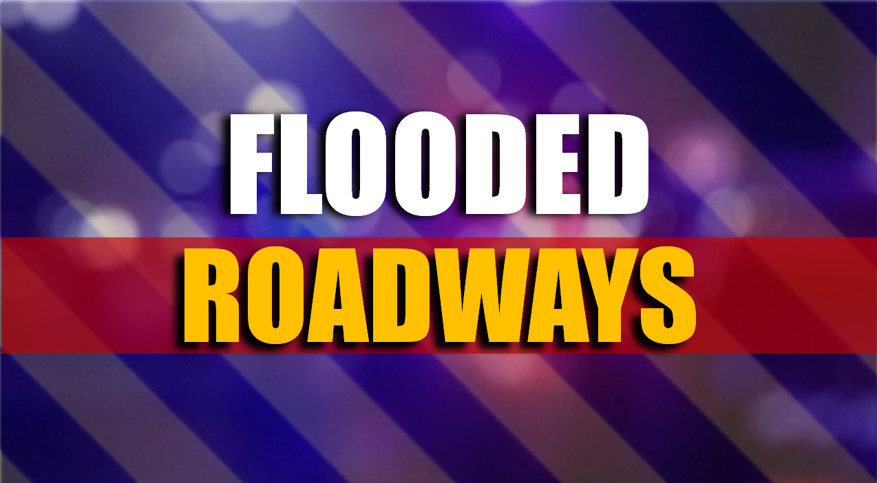 FULL LIST: 5 Roadways Closed Friday Morning Due to High Water