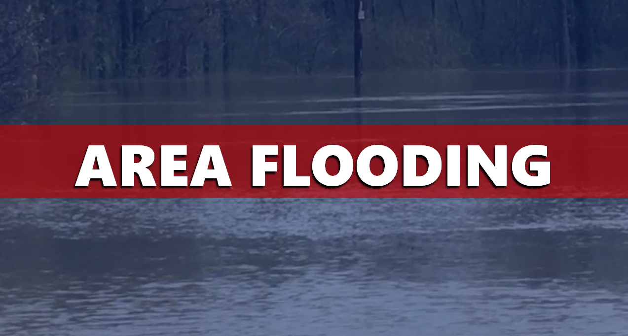 Crews Reporting to Multiple High Water Reports Friday Morning, Watch for Flooding