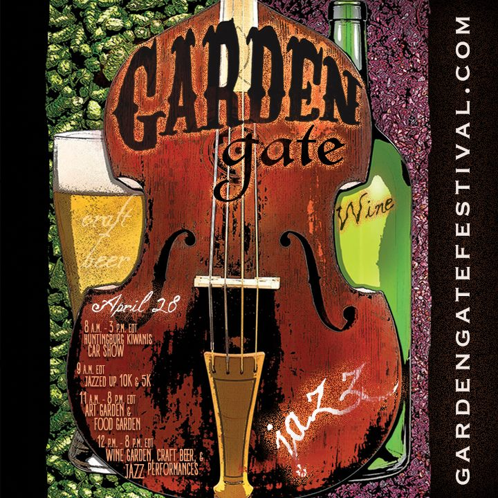 Garden Gate Jazz, Craft Beer, and Wine Festival in Huntingburg Today