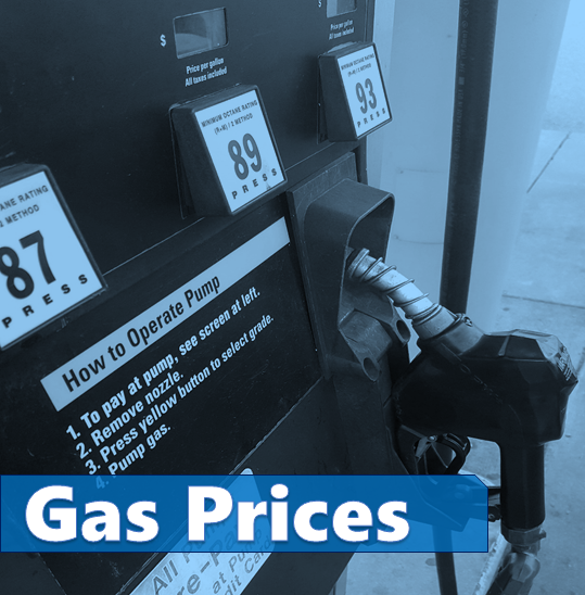 Local Gas Prices Spike and Going Up