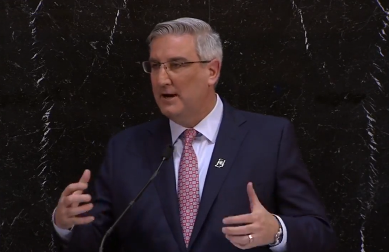 Gov. Holcomb Discusses Teacher Pay, Hate Crimes in Tuesday's State of the State Address