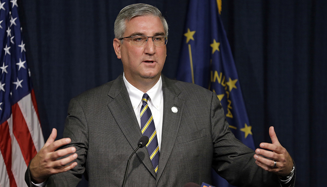 Gov. Holcomb Admits to Smoking Pot in College, Still Against Legalization in Indiana