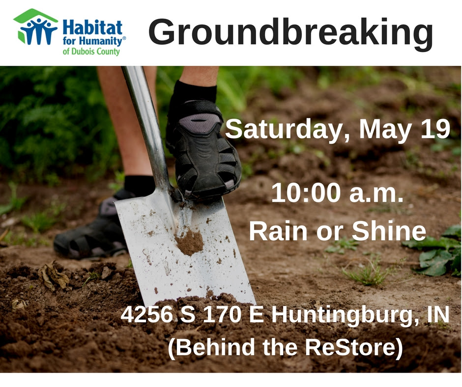 Habitat for Humanity to Hold Huntingburg Ground Breaking