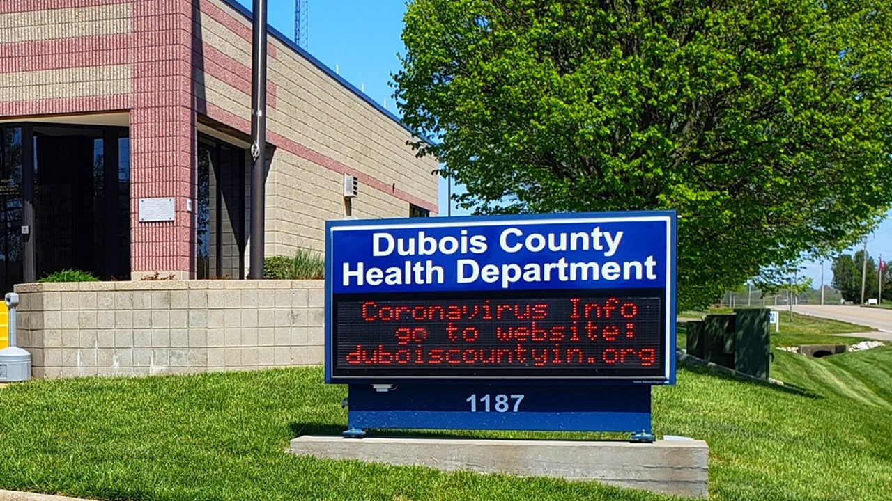 Health Officials Announce Four New Cases of COVID-19 in Dubois County Residents Bringing Total to 22