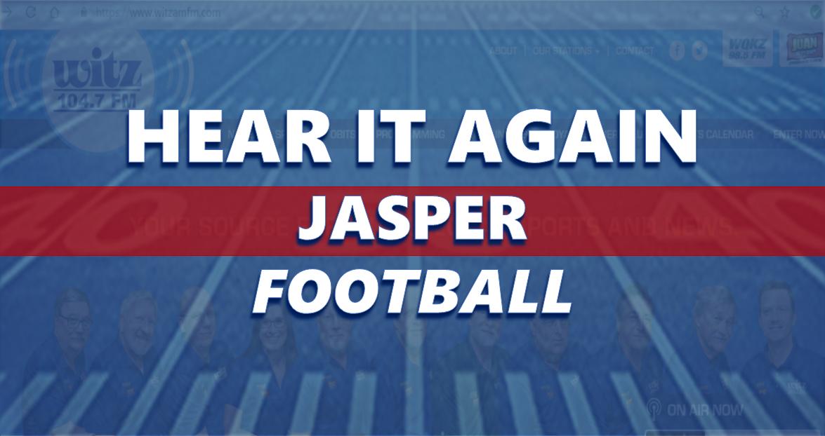 Hear It Again: Jasper Football vs Washington 10/5/18