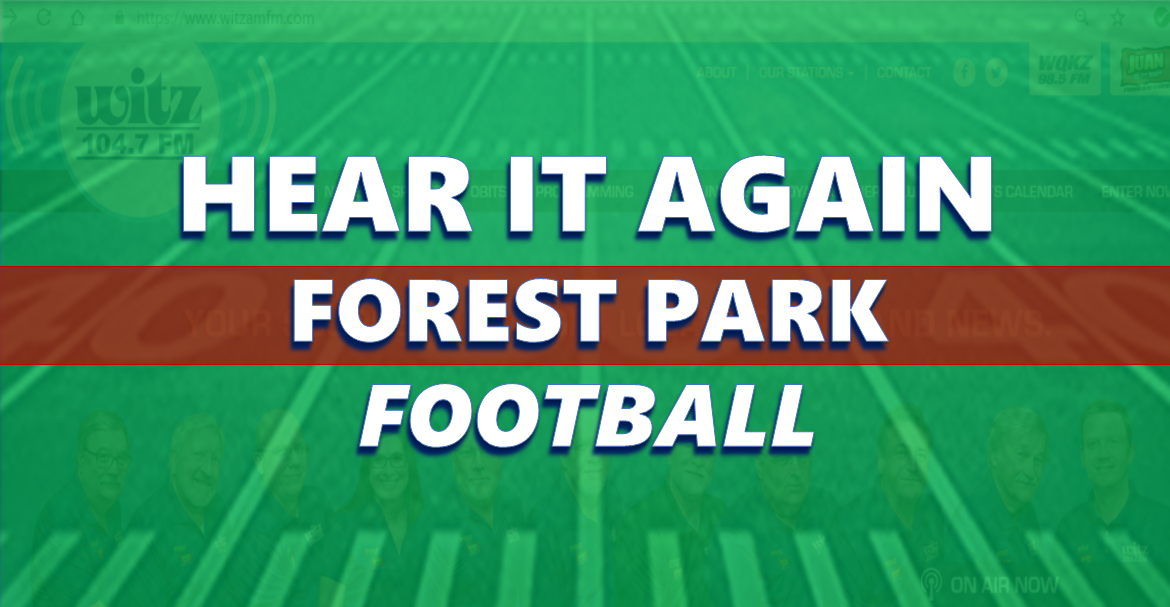 Hear It Again: Forest Park Football vs North Posey 9/27/19