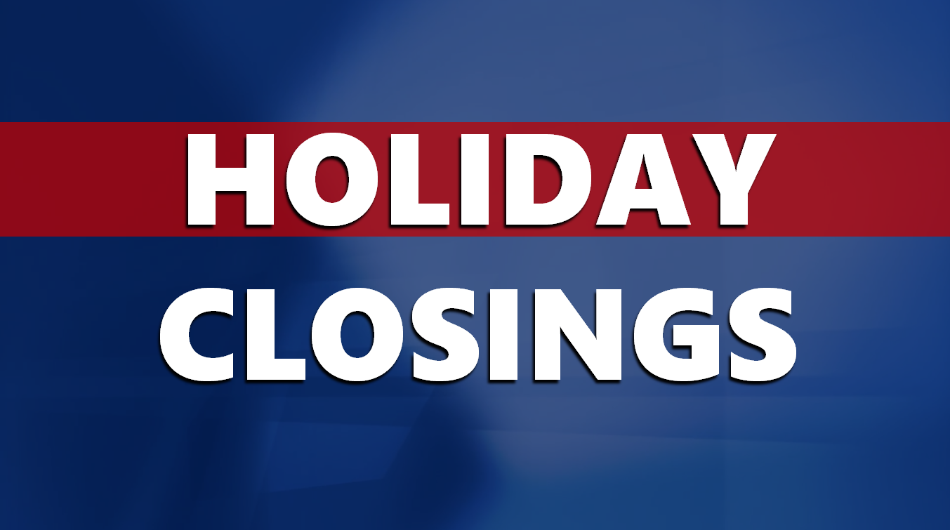 Federal, State and Local Offices to Close Thursday for Thanksgiving