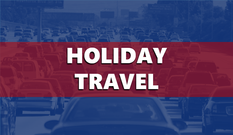 MORE INFO:  Transportation Officials Urge Memorial Weekend Travelers to Use Caution on Local Roadways
