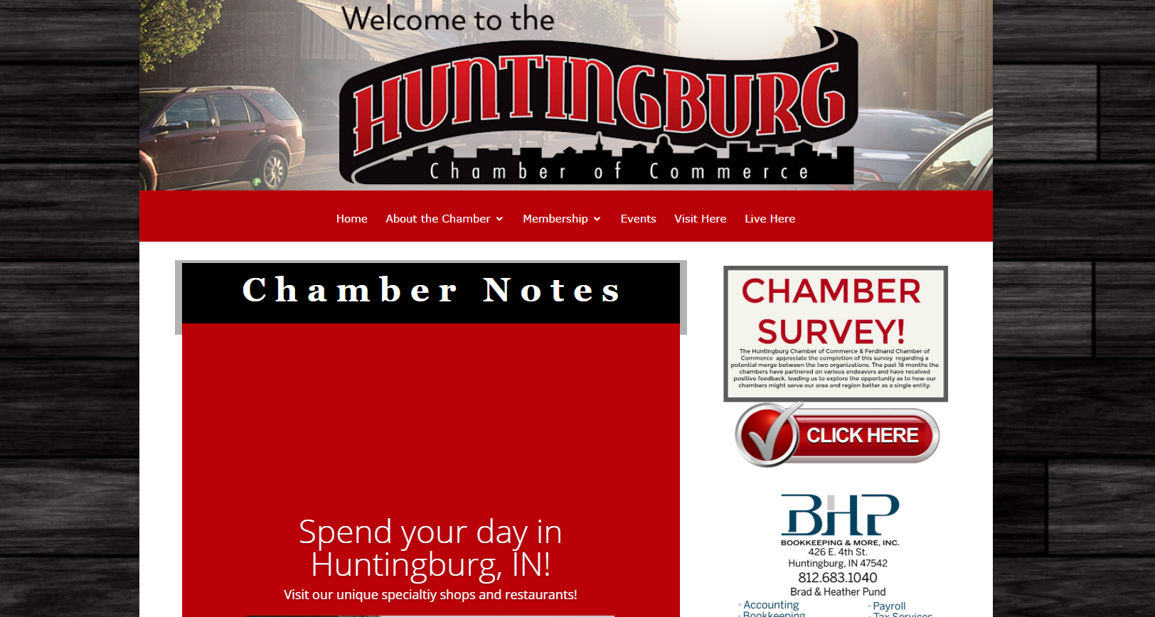 Chambers of Commerce in Huntingburg and Ferdinand Asking For Public Input on Possible Merger