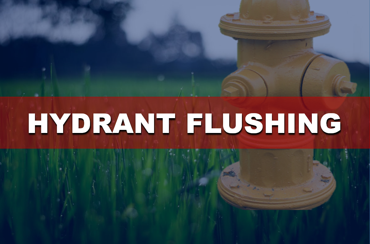 City of Jasper Reminds Residents Fall Hydrant Flushing Continues