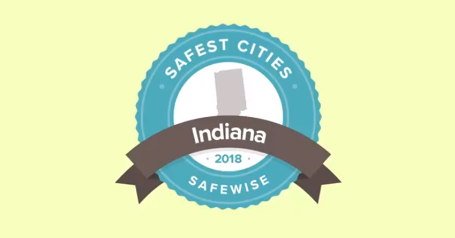 Safe Wise Releases Annual Indiana's Top 20 Safest Cities List
