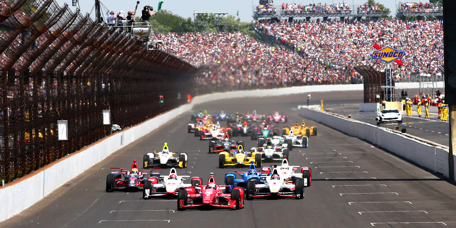 Record Heat for Indy 500, Hundreds Treated for Heat Illness