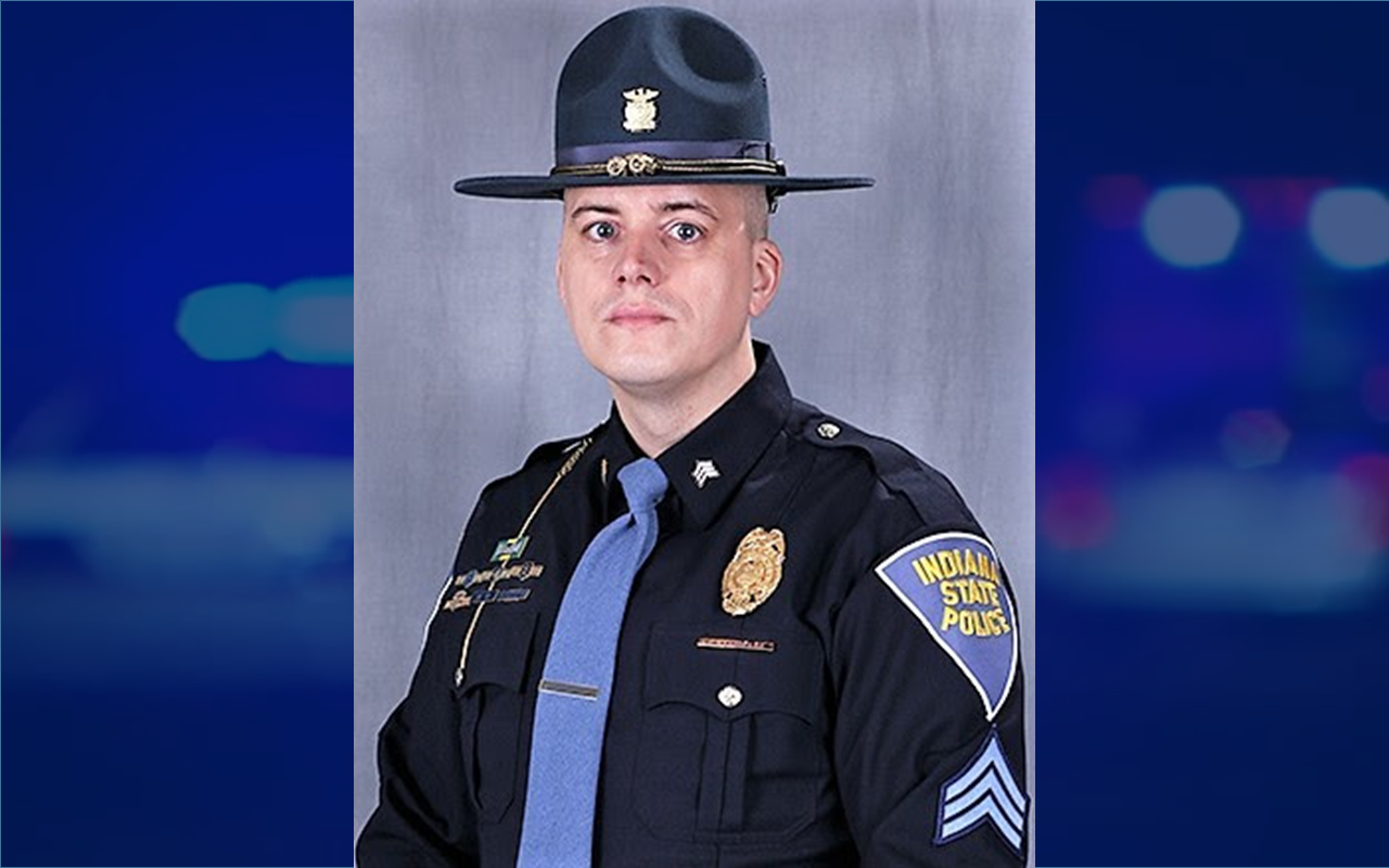 Sergeant Robbie Lambert Promoted to ISP Jasper District Squad Leader