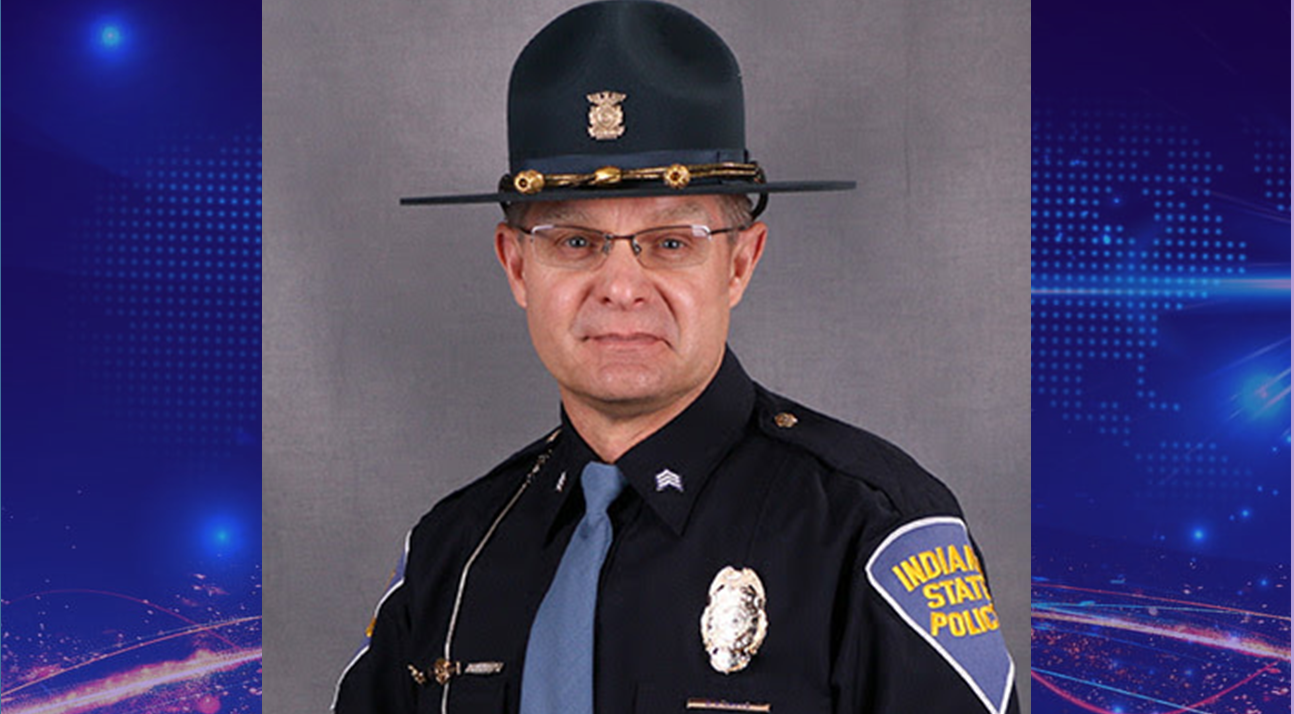 Ireland Native Honored For 30 Years With Indiana State Police