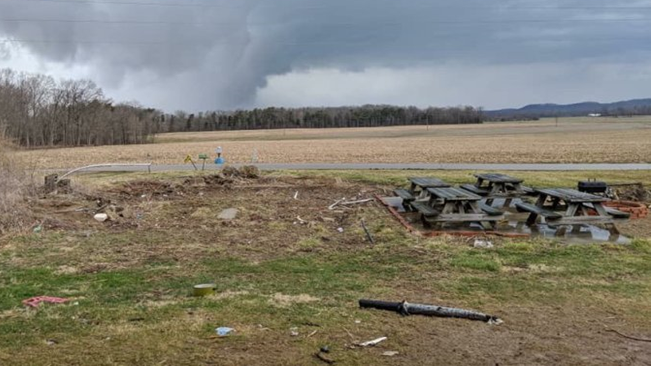 Tornadoes Confirmed From Last Week's Storms in Jackson, Washington Counties