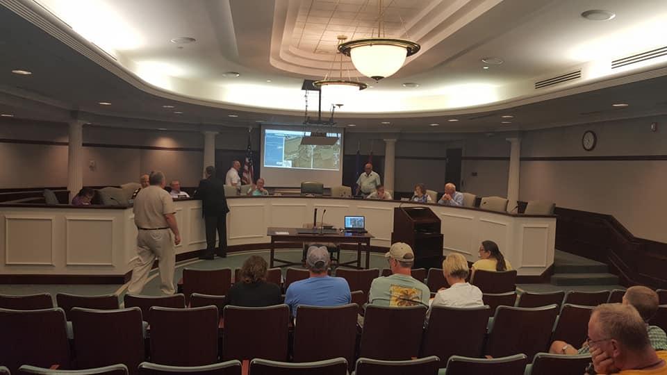 Ed Cole Updates Jasper Common Council on Mid-State Corridor Funding