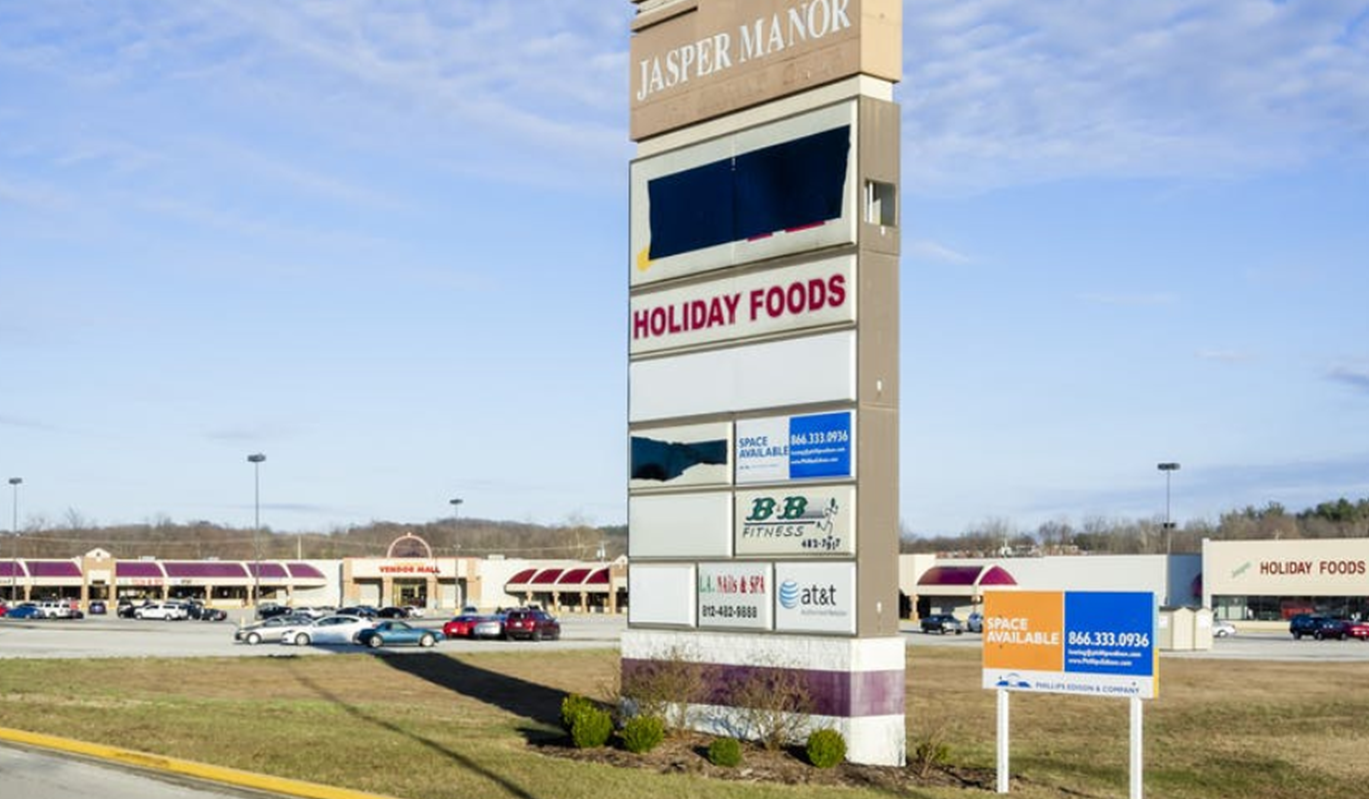 Online Auction Underway Now For the Jasper Manor Shopping Center