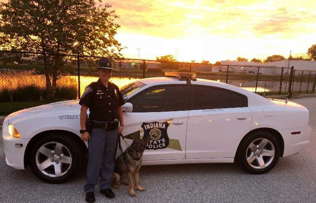 New Trooper / K9 Team Hits the Streets in and Around Jasper