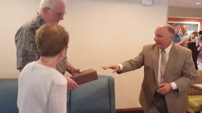 WATCH:  Larry & Betty Hanselman Receive Key to the City
