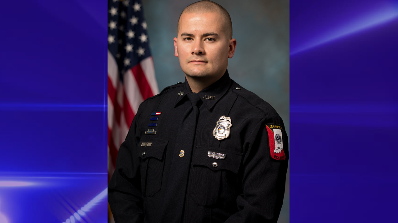 Jasper Police Officer David Burger Promoted to Sergeant