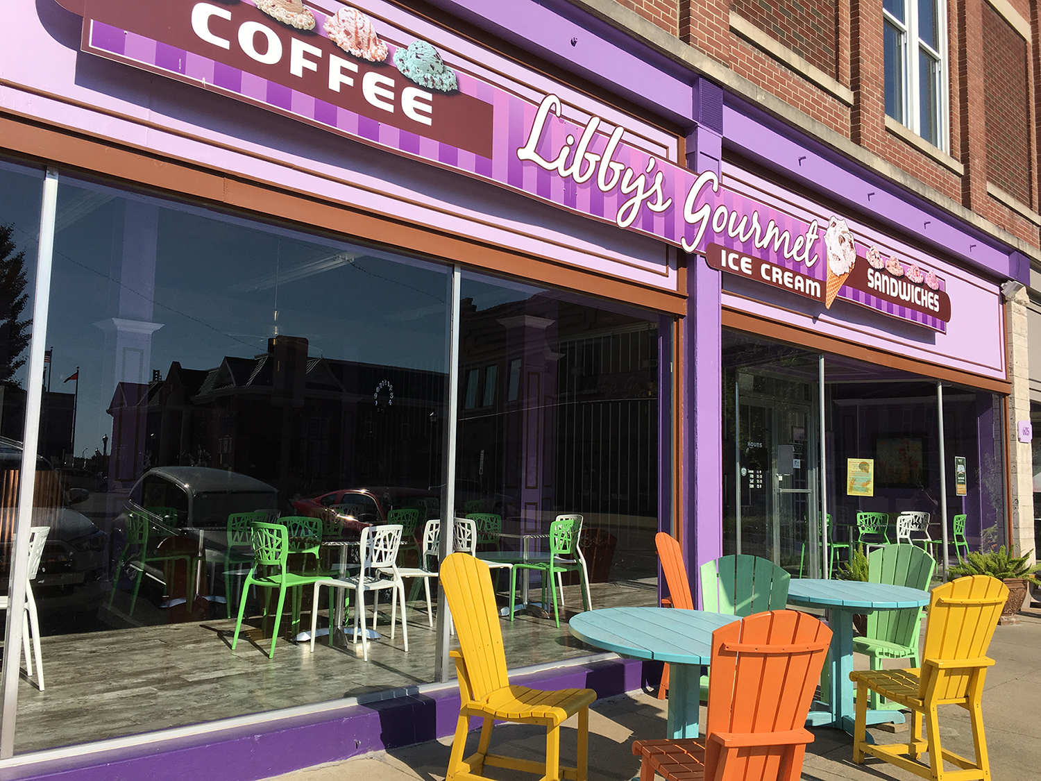 Sources Say Libby's Gourmet Ice Cream in Jasper Will Not Re-Open For the Season, Building for Sale
