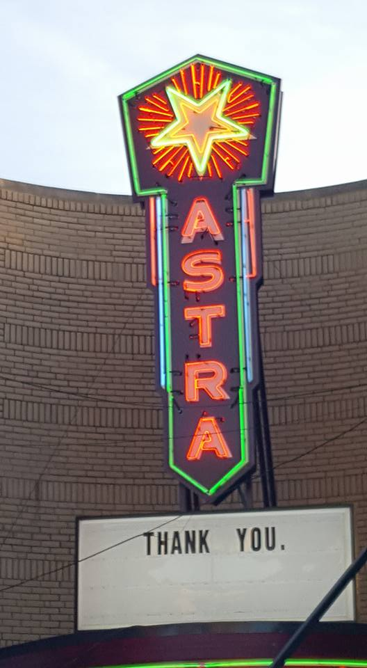 WATCH:  The Iconic Astra Sign Re-Lit Wednesday in Jasper