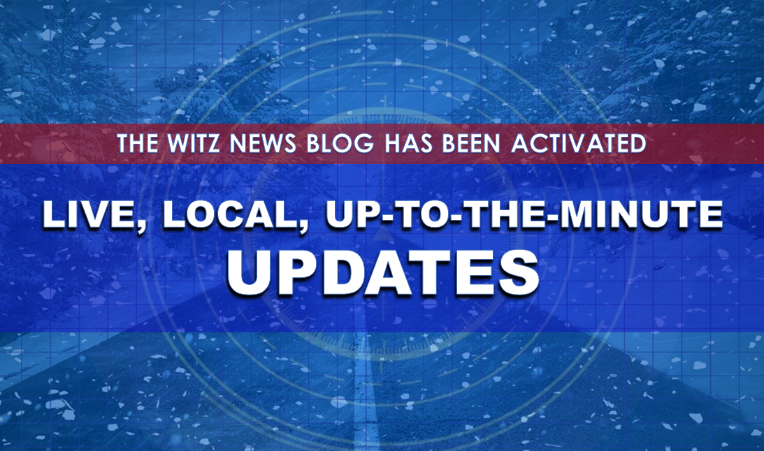 LIVE, LOCAL UPDATES:  WINTER STORM WARNING