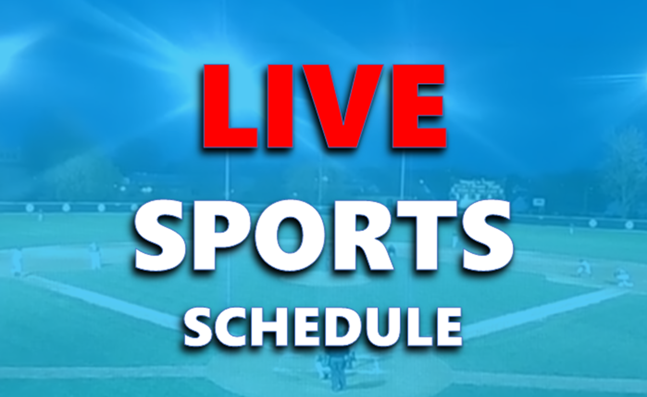 LIVE SPORTS ON-AIR LINE-UP:  March 18th - 31st
