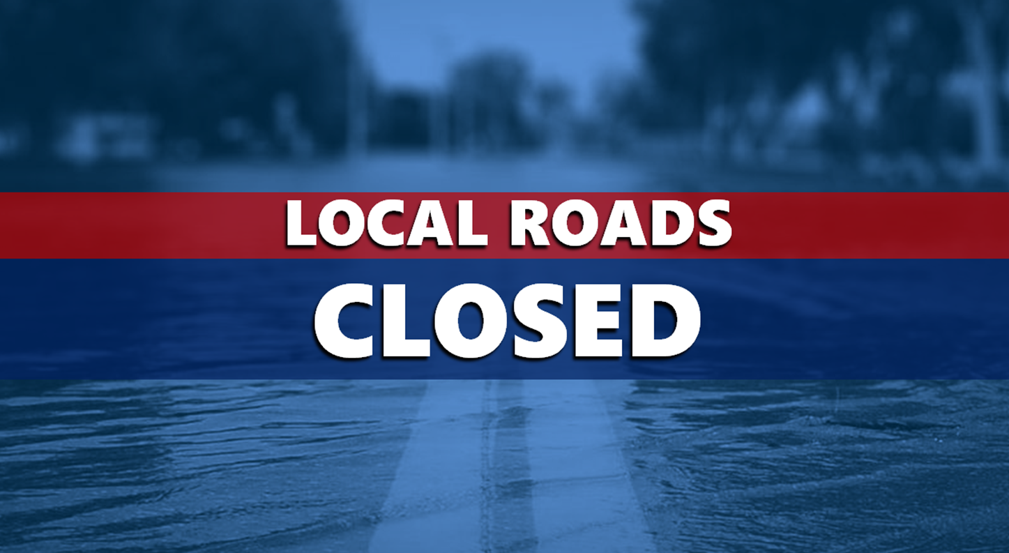 UPDATED LIST:  Dubois County Flooded Roadways Monday, March 18th, 2019