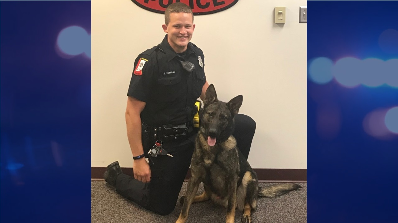 MEET MACK:  Jasper Police Welcome New K9 Officer to the Force